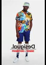 Prospectus Desigual : Promotions / Homme