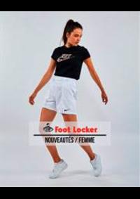 Catalogues et collections Foot Locker Charleroi - C.C. Ville 2 : Nouveautes Femme