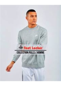 Catalogues et collections Foot Locker Charleroi - C.C. Ville 2 : Collection Pulls