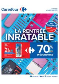 Prospectus Carrefour LILLE : La rentrée inratable