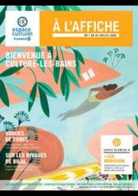 Prospectus E.Leclerc VITRY SUR SEINE : BIENVENUE À CULTURE-LES-BAINS