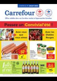 Promos et remises Carrefour Market BRUSSEL - SCHAARBEEK : folder Carrefour Market