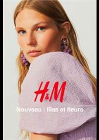 Catalogues et collections H&M Arcueil : Nouveau - lilas et fleurs
