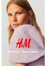 Catalogues et collections H&M : Nouveau - lilas et fleurs