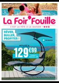 Prospectus La Foir'Fouille BRETIGNY SUR ORGE : Rêver, buller, profiter!