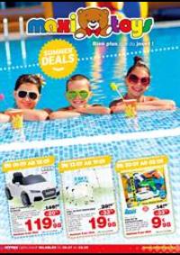 Prospectus Maxi Toys Mouscron : Summer deals