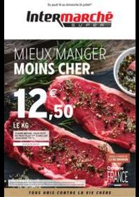 Prospectus Intermarché Super Beuzeville : MIEUX MANGER MOINS CHER.