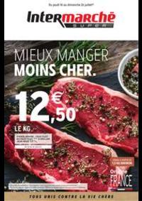 Prospectus Intermarché Super Croix : MIEUX MANGER MOINS CHER.