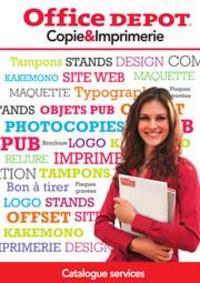 Prospectus Office DEPOT Lognes : GUIDE SERVICE COPIE ET IMPRIMERIE