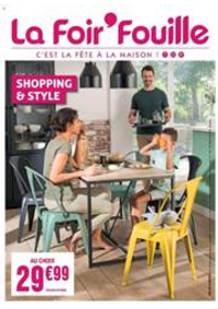 Prospectus La Foir'Fouille HALLUIN : Shopping & Style