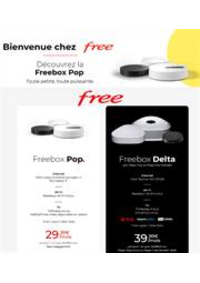 Prospectus Free Paris : Offres Free