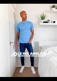 Prospectus JD SPORTS  Paris - Les Arcades : Collection Polos / Homme