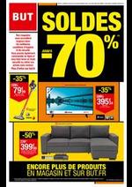 Prospectus BUT : Soldes jusqu'à -70%