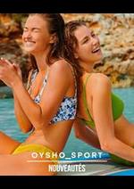 Prospectus Oysho : Nouveautés / Sport