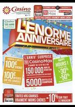 Promos et remises Supermarchés Casino : L'énorme anniversaire
