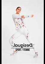 Prospectus Desigual : Sport / Femme