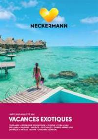 Tarifs Neckermann Namur : Vacances exotiques