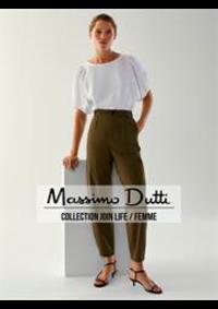 Catalogues et collections Massimo Dutti Women Men Namur : Collection Join Life  Femme