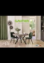 Prospectus  : Catalogue Gautier Home