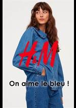 Catalogues et collections H&M : On aime le bleu