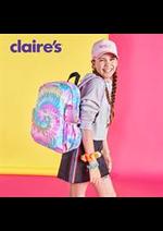 Prospectus claire's : Les Nouveautés Claire's
