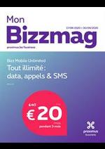 Journaux et magazines Proximus : Bizzmag
