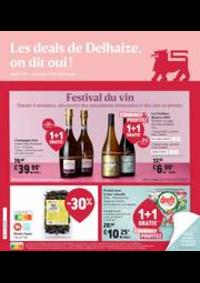 Promos et remises Supermarché Delhaize Dinant : Nouveau: Promotion de la semaine