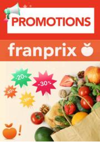 Prospectus Franprix CRETEIL résidence C.Cial Habettes : Promotions Franprix