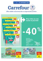 Prospectus Carrefour : folder Carrefour