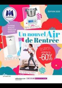 Prospectus M6 Boutique Villeneuve La Garenne C.C. QWARTZ : Un nouvel Air de Rentrée
