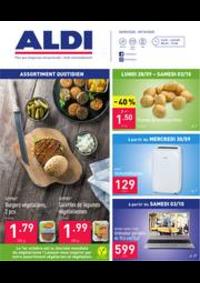 Prospectus Aldi SINT-PIETERS-LEEUW : Folder Aldi