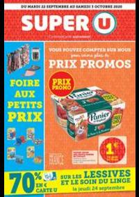 Prospectus Super U NOISY LE GRAND - COSSONNEAU : Catalogue Super U