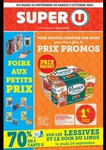 Prospectus Super U : Catalogue Super U