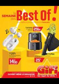 Prospectus Gifi VILLEMOMBLE : La semaine des Best of!