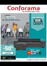 Promos et remises Conforama : Vouz méritez un bon canapé