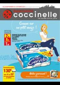 Prospectus Coccinelle Supermarché Saint-Denis : Catalogue Coccinelle