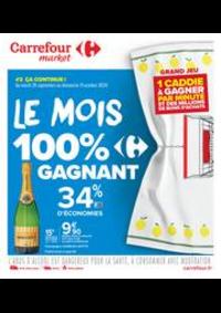Prospectus Carrefour Market MEHUN SUR YEVRE : Le mois 100% gagnant