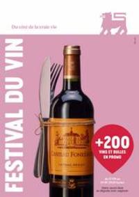 Prospectus Supermarché Delhaize Bouge : Festival Du Vin