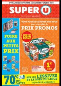 Promos et remises Super U AMPHION LES BAINS : Catalogue Super U