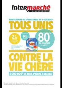 Promos et remises Intermarché Super Les Hôpitaux Neufs : TOUS UNIS CONTRE LA VIE CHÈRE