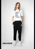 Prospectus Zadig et voltaire : Collection T-Shirts / Femme