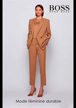 Catalogues et collections Hugo Boss : Mode feminine durable