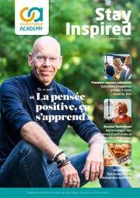 Journaux et magazines Colruyt ANDERLECHT - VEEWEYDE : Stay Inspired