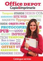 Prospectus Office DEPOT : GUIDE SERVICE COPIE ET IMPRIMERIE