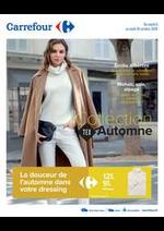 Prospectus Carrefour : Collection textile Automne