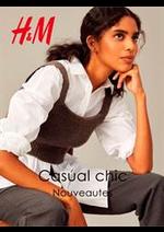 Catalogues et collections H&M : Nouveautes Casual Chic
