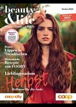 Journaux et magazines Coop City : Beauty & Life - Herbst 2020