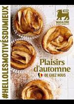 Journaux et magazines Supermarché Delhaize : Plaisirs d'automne