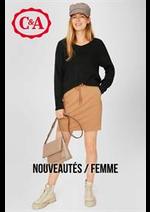 Catalogues et collections C&A : Nouveautés  Femme