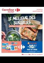 Prospectus Carrefour Market : Le meilleur des surgelés